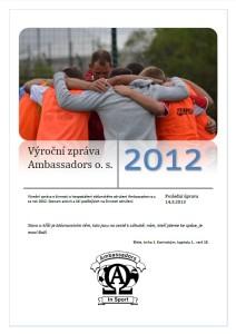 Výroční zpráva 2012